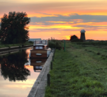 West Somerton Sunset Sticker