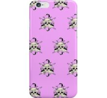 Bad 2 The Bones (Pattern 4) iPhone Case/Skin