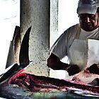 fish market - mercado de pescado by Bernhard Matejka