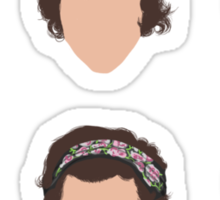 Minimalistic Harry Sticker