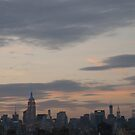 New York City Skyline at sunset by Olivia Son