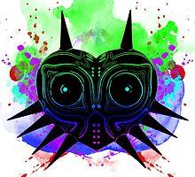 Majoras Mask (Vibrant) by RagtagNinjaboy
