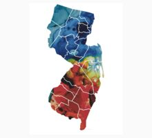 New Jersey - State Map By Sharon Cummings Kids Clothes