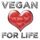 Vegan For Life by thepixelgarden