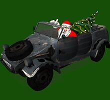 Santa Claus In Kübelwagen by Mythos57