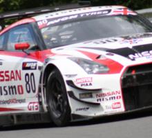 Hoy and Mardenborough - Nissan GTR  Sticker