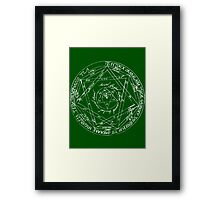 Key of Solomon Framed Print