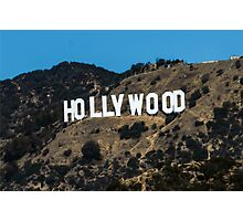 Hollywood #1 Photographic Print
