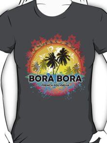 Bora Bora Sunset Style T-Shirt