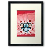 HeinyR- Lover Mouse Framed Print