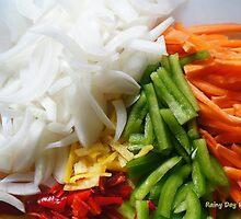 garden fresh to dinner delicious by Rainydayphotos