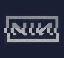 Nine Inch Nails Glitch Logo by TaVinci