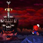 Super Mario RPG Bowser's Castle by likelikes