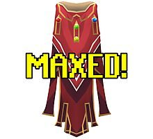 RUNESCAPE MAX CAPE! Photographic Print