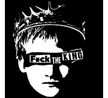 Fuck the king Photographic Print