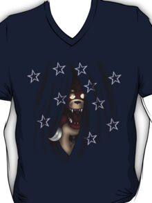 Peeking Foxy (with curtain stars) T-Shirt