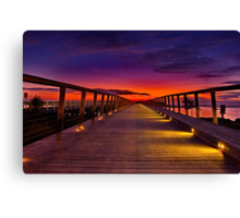 """Dawn Promenade"" Canvas Print"