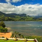 Hanalei Bay by James Eddy