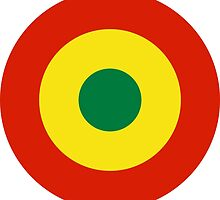 Roundel of Bolivian Air Force  by abbeyz71