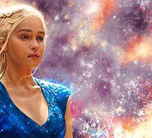 Game of Thrones - Daenerys Targaryen by p1xer