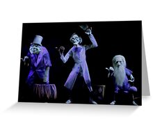 Hitchhiking Ghosts Greeting Card