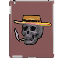 the outlaw Zombie Wales iPad Case/Skin