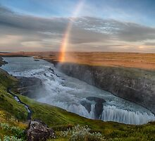 Golden Falls (Gullfoss), Iceland by Tomas Abreu