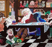 Santa's workshop by ChristmasPress