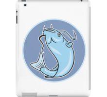 Catfish Jumping Circle Cartoon iPad Case/Skin