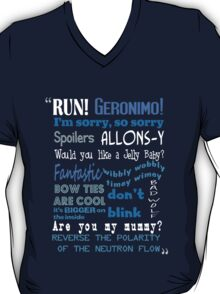 Doctor Who Quoted T-Shirt