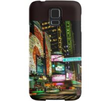 Broadway Lights Samsung Galaxy Case/Skin