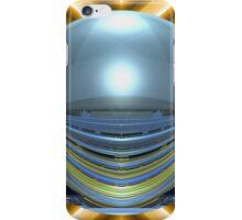 Spherically Mirrored Sunlit Stadium  iPhone Case/Skin
