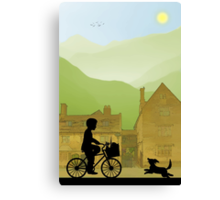 Childhood Dreams, Special Delivery Canvas Print