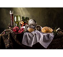 Rich Man's Repast Photographic Print
