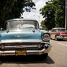 The Chevy and the Buick by reverendpixel