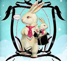 Three Magic Rabbits by Eva Nev