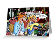 Lolly & Oigs - We're Famous Greeting Card