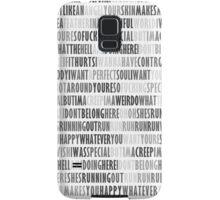 Radiohead - Creep Samsung Galaxy Case/Skin