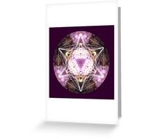 5D Cube Greeting Card