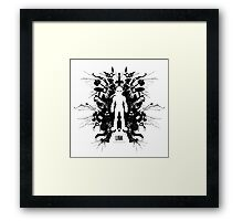 Kleptomania Link Blot Test Geek Disorders Framed Print