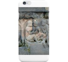 Borobudur Stone Work iPhone Case/Skin