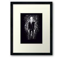 The Slender Man Framed Print