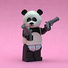 Banksy Panda  by minifignick