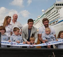 Southampton Boat Show With Matt Baker by Keith Larby