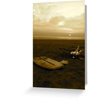 Coastal Sunset Greeting Card