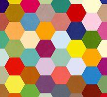 Hexagonal Patchwork  by Daniel Watts