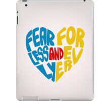 Fearlessly and Forever iPad Case/Skin