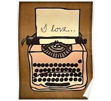 I love... Poster