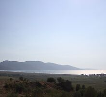 Akyaka Castle Ruins and Gokova Gulf by taiche