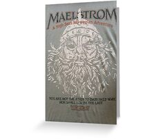 EPCOT's Maelstrom Greeting Card